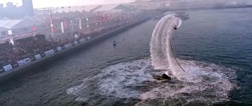 Championnats du monde de flyboard à Dubaï
