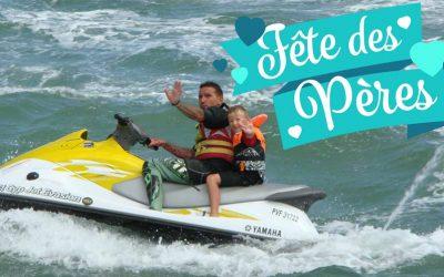 Pensez aux bons cadeaux Jet Ski pour un papa qui déchire!