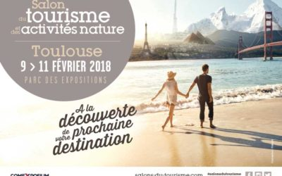 Retrouvez nous au Salon du Tourisme de Toulouse | Invitation