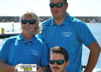 Eric, Benjamin et Guillem