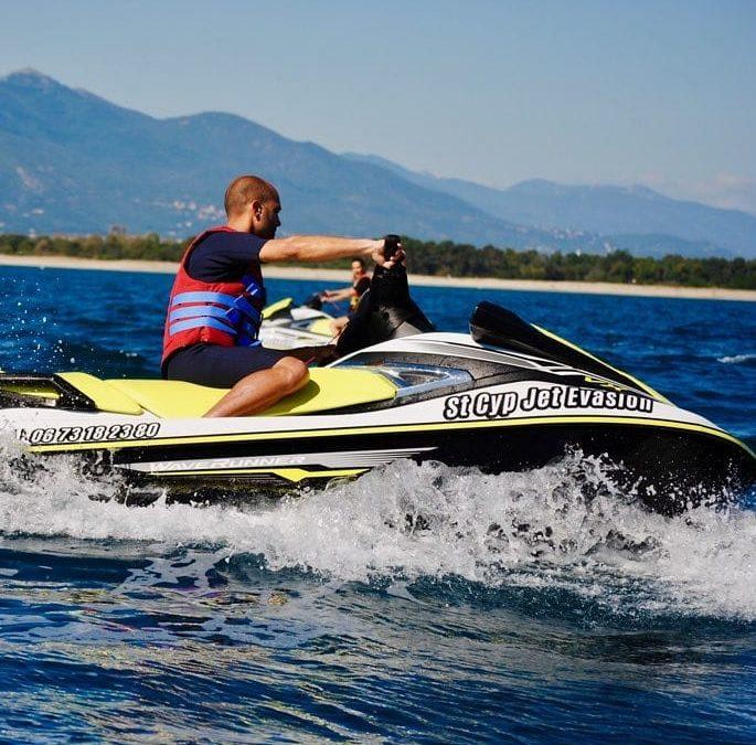 Le jet ski passionnément à Saint Cyprien !